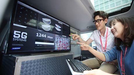 Samsung hoan thanh thanh cong thu nghiem nguyen mau 5G - Anh 1