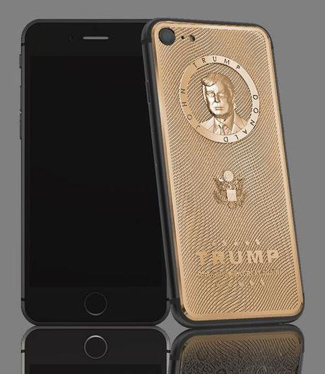Caviar tiep tuc cho ra mat iPhone 7 phien ban Donald Trump - Anh 2