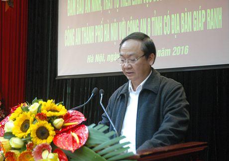 Cong an Ha Noi phoi hop cung Cong an 8 tinh trong dam bao ANTT duong thuy - Anh 3