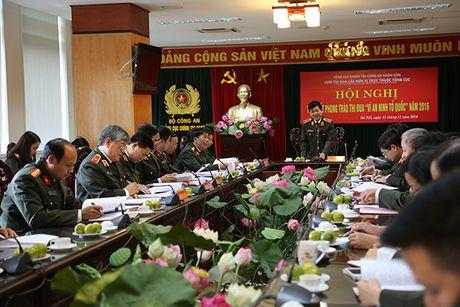Tong cuc Chinh tri CAND tong ket phong trao thi dua 'Vi An ninh To quoc' - Anh 1