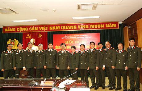 Tong cuc Chinh tri CAND tong ket phong trao thi dua 'Vi An ninh To quoc' - Anh 2