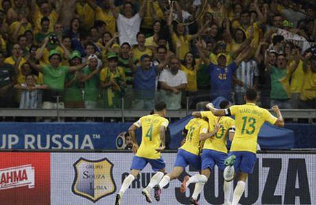 Chi tiet Brazil - Argentina: Neymar va dong doi pho dien (KT) - Anh 4