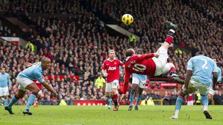 Ban thang dep nhat MU o NHA: Rooney moc xe dap chong nguoc - Anh 1