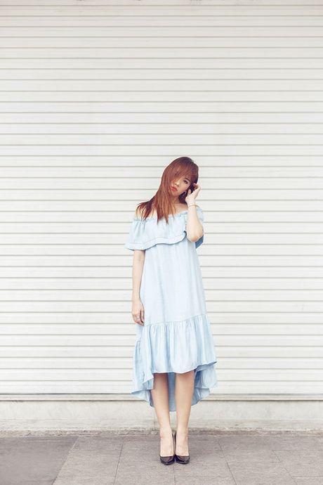 Hari Won nhay goi cam trong 'Anh cu di di' phien ban 'The Remix' - Anh 7