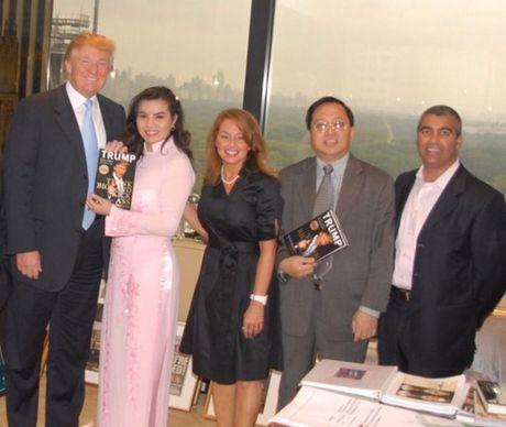 Quy ba Kim Hong ke ve cuoc gap Donald Trump de dua HH Hoan vu ve VN - Anh 1