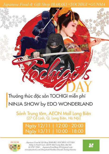 Xem Ninja Show o Ngay hoi Tochigi 2016 - Anh 1