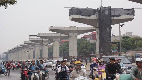 Du an duong sat tren cao Nhon - Ga Ha Noi: Nha thau yeu cau tang phi 40 trieu USD - Anh 1