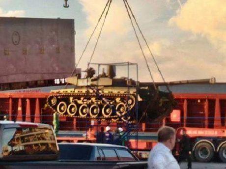 Thai Lan nhan 5 xe tang chien dau Oplot-T tu Ukraine - Anh 1