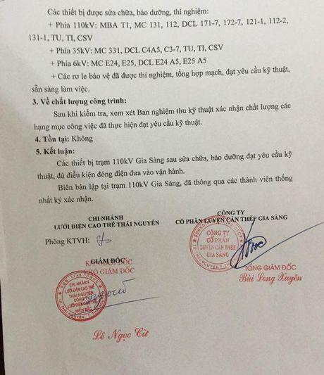 Thai Nguyen: Vi sao ke hoach khoi phuc san xuat tai Cong ty CP Luyen can thep Gia Sang bi pha san? - Anh 2