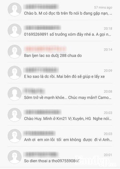 Chang trai doc hanh roi xuong vuc o Cao Bang va su tu te cua dan phuot - Anh 3