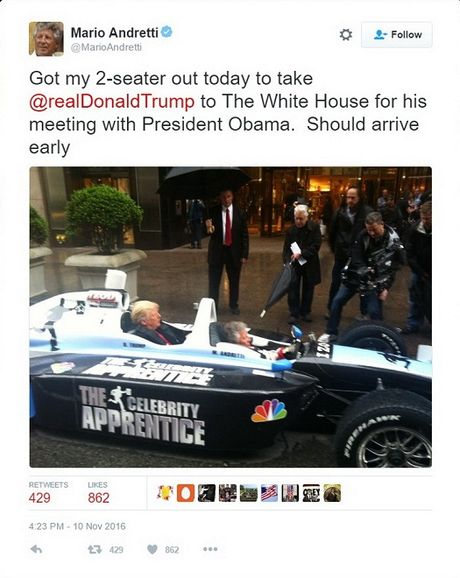 Clip Donald Trumph toi Nha Trang bang xe dua? - Anh 1