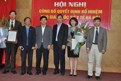 So Y te Ha Noi co 2 Pho Giam doc moi - Anh 1