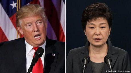 Ong Trump de nghi Han Quoc chia se ganh nang kinh phi quan doi - Anh 1