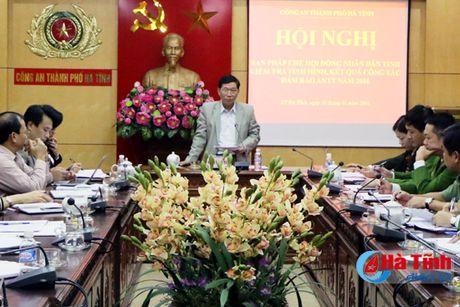 Chu dong dam bao ANCT, ATXH dia ban trung tam tinh ly Ha Tinh - Anh 1