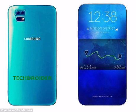 Galaxy S8 thanh 'doi thu lon nhat' cua iPhone 7 - Anh 1
