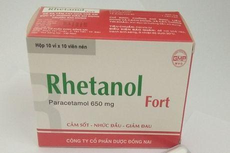 Dinh chi luu hanh thuoc Rhetanol Fort - Anh 1