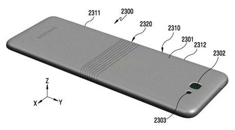 Hinh anh moi ve smartphone man hinh deo cua Samsung - Anh 4