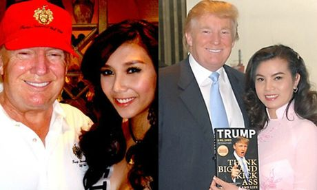 Nguoi dep Viet ke chuyen gap go ong Donald Trump - Anh 1