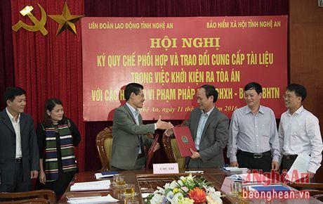 Phoi hop khoi kien cac doanh nghiep no dong BHXH - Anh 1