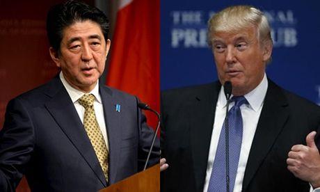 Trump se coi Nhat Ban la dong minh doi pho Trung Quoc - Anh 1