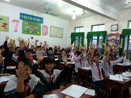 Ha Tinh: Truong THCS thu 5 'vay chao' VNEN - Anh 1