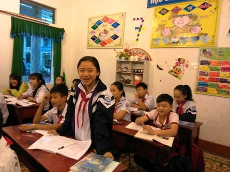 Ha Tinh: Truong THCS thu 5 'vay chao' VNEN - Anh 2