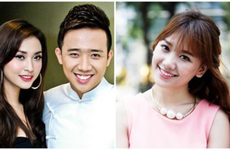 Tran Thanh va Trinh Thang Binh 'chat chem' nhau ve nguoi yeu cu - Anh 1