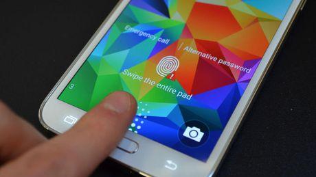 Samsung tinh tu phat trien cong nghe nhan dang van tay - Anh 1