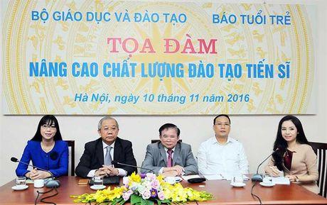 'That' tieu chi de nang cao chat luong dao tao tien si - Anh 1