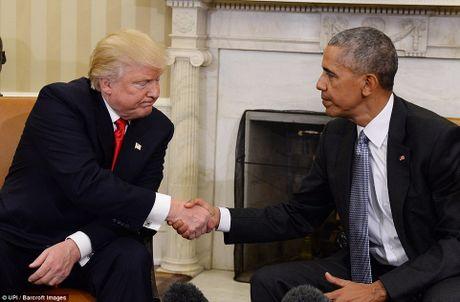 Ba Obama gap vo ong Trump, noi chuyen con cai - Anh 6