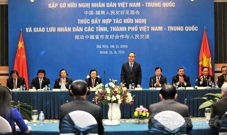 Viet Nam - Trung Quoc: No luc vi hoa binh, huu nghi va phon vinh cua hai dan toc - Anh 1