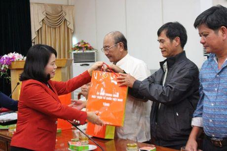 Doan dai bieu nguoi uy tin tieu bieu tinh Dong Nai tham MTTQ Viet Nam - Anh 3