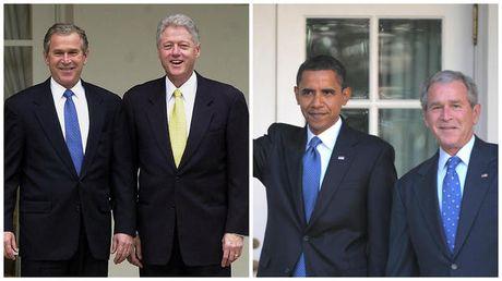 Nhung buc anh to Obama - Trump bang mat, khong bang long - Anh 2