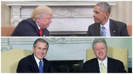 Nhung buc anh to Obama - Trump bang mat, khong bang long - Anh 4