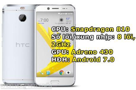Can canh smartphone chong nuoc, man hinh 2K vua duoc HTC ra mat - Anh 1