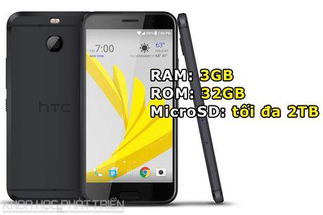 Can canh smartphone chong nuoc, man hinh 2K vua duoc HTC ra mat - Anh 2