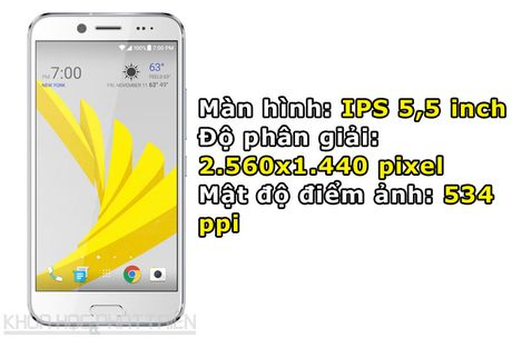 Can canh smartphone chong nuoc, man hinh 2K vua duoc HTC ra mat - Anh 5