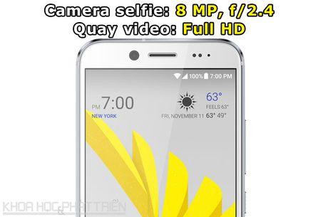 Can canh smartphone chong nuoc, man hinh 2K vua duoc HTC ra mat - Anh 7