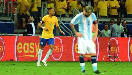 Messi mat tich, Neymar bung no cung dieu samba - Anh 1