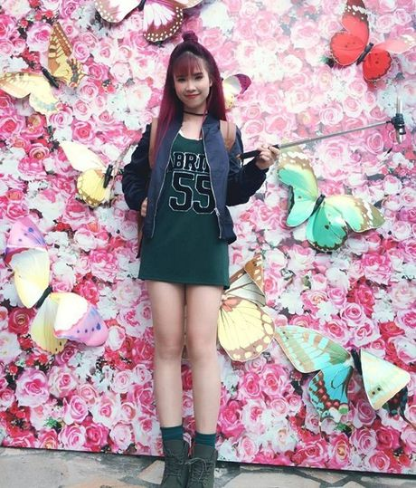 Hoa Minzy khoe anh sexy nam 16 tuoi - Anh 9