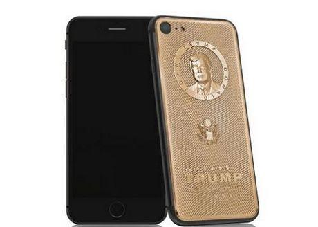 iPhone 7 khac hinh Donald Trump ma vang gia 3.500 USD - Anh 2