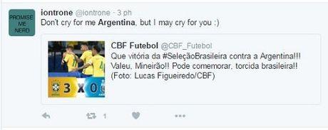 Messi va dong doi bi chi trich nang ne khi Argentina thua tham Brazil - Anh 2