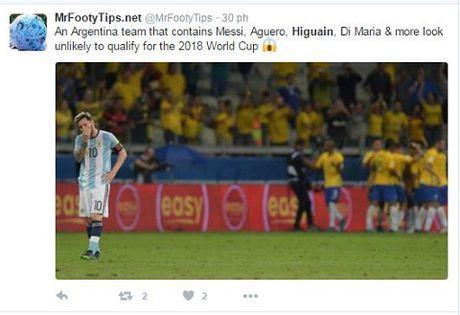 Messi va dong doi bi chi trich nang ne khi Argentina thua tham Brazil - Anh 5