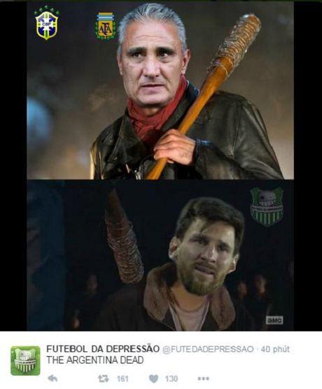 Messi va dong doi bi chi trich nang ne khi Argentina thua tham Brazil - Anh 6