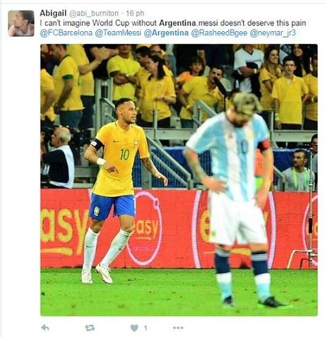 Messi va dong doi bi chi trich nang ne khi Argentina thua tham Brazil - Anh 8