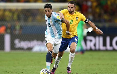 Cham diem Brazil 3-0 Argentina: Neymar che mo Messi - Anh 10