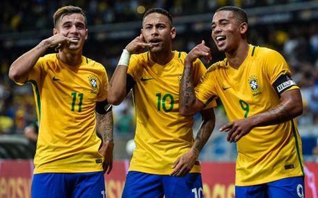 Cham diem Brazil 3-0 Argentina: Neymar che mo Messi - Anh 11