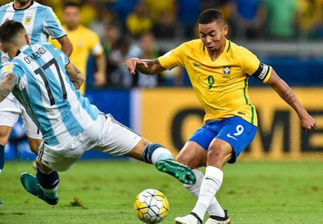 Cham diem Brazil 3-0 Argentina: Neymar che mo Messi - Anh 13