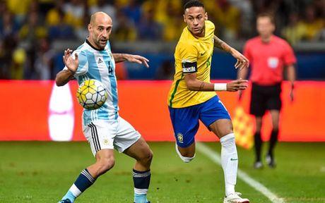 Cham diem Brazil 3-0 Argentina: Neymar che mo Messi - Anh 15