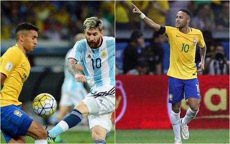 Cham diem Brazil 3-0 Argentina: Neymar che mo Messi - Anh 1